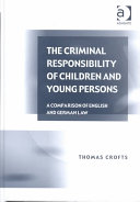 The Criminal Responsibility of Children and Young Persons