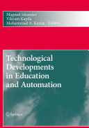 Technological Developments in Education and Automation