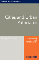 Cities and Urban Patriciates: Oxford Bibliographies Online Research Guide