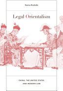Pdf Legal Orientalism Telecharger