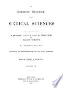A Reference Handbook of the Medical Sciences Book PDF