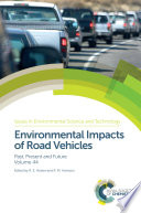 Environmental Impacts of Road Vehicles Book