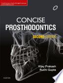 Concise Prosthodontics  E Book Book