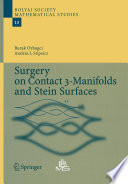 Surgery on Contact 3 Manifolds and Stein Surfaces