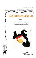 Pdf La violence verbale Tome 2 Telecharger