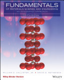 Fundamentals of Materials Science and Engineering  An Integrated Approach  5th Edition