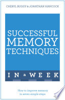 Successful Memory Techniques In A Week Book