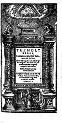 Pdf THE HOLY BIBLE, Containing the Old Testament and the New