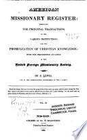 American Missionary Register
