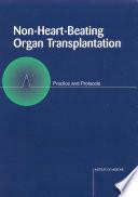 Non Heart Beating Organ Transplantation Book