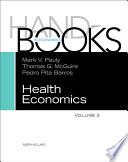 Handbook of Health Economics Book