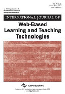 International Journal of Web Based Learning and Teaching Technologies  Vol 7 ISS 1