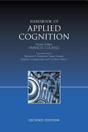 Handbook of Applied Cognition Pdf/ePub eBook