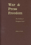 War and Press Freedom