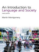 An Introduction to Language and Society Pdf/ePub eBook
