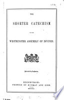 The shorter catechism Book