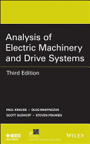Pdf Analysis of Electric Machinery and Drive Systems