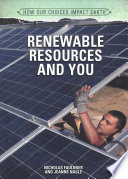 Renewable Resources and You Book