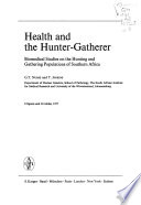 Health and the hunter-gatherer