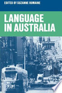 Language in Australia by Suzanne Romaine PDF