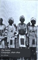 The Sudan Campaign, 1896-1899