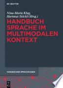 Handbuch Sprache im multimodalen Kontext