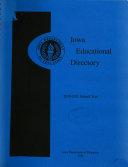 Iowa Educational Directory
