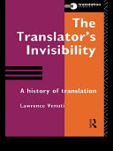 Pdf The Translator's Invisibility