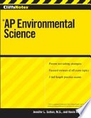 Cliffsnotes Ap Environmental Science With Cd Rom Book