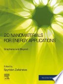 2d Nanomaterials For Energy Applications Book PDF