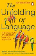 Pdf The Unfolding Of Language Telecharger