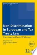 Non Discrimination in European and Tax Treaty Law