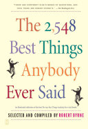 Pdf The 2,548 Best Things Anybody Ever Said