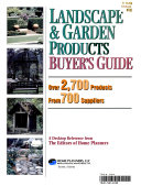 Landscape   Garden Products Buyer s Guide
