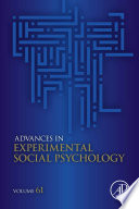 Advances in Experimental Social Psychology