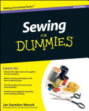 Pdf Sewing For Dummies Telecharger