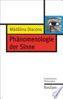 Phänomenologie der Sinne
