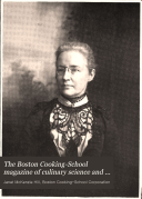 The Boston Cooking School Magazine of Culinary Science and Domestic Economics Book