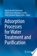 Adsorption Processes for Water Treatment and Purification