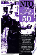 New Theatre Quarterly 50 Volume 13 Part 2