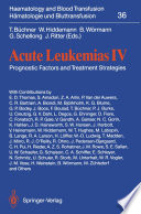 Acute Leukemias IV
