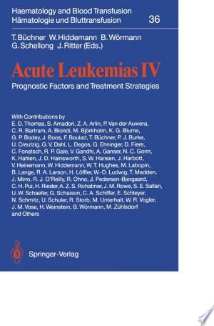 Download Acute Leukemias IV Free Books - Read Books