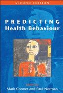 Predicting Health Behaviour