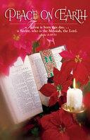 Bible Poinsettia Christmas Bulletin Regular 2008 Package Of 50