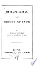 Sybilline Verses  Or  The Mirror of Fate