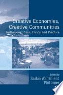Creative Economies Creative Communities