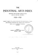 Applied Science   Technology Index Book