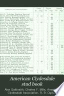 American Clydesdale Stud Book