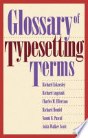 Glossary of Typesetting Terms