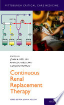 Continuous Renal Replacement Therapy